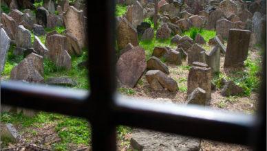 Cmentarz żydowski na Josefovie