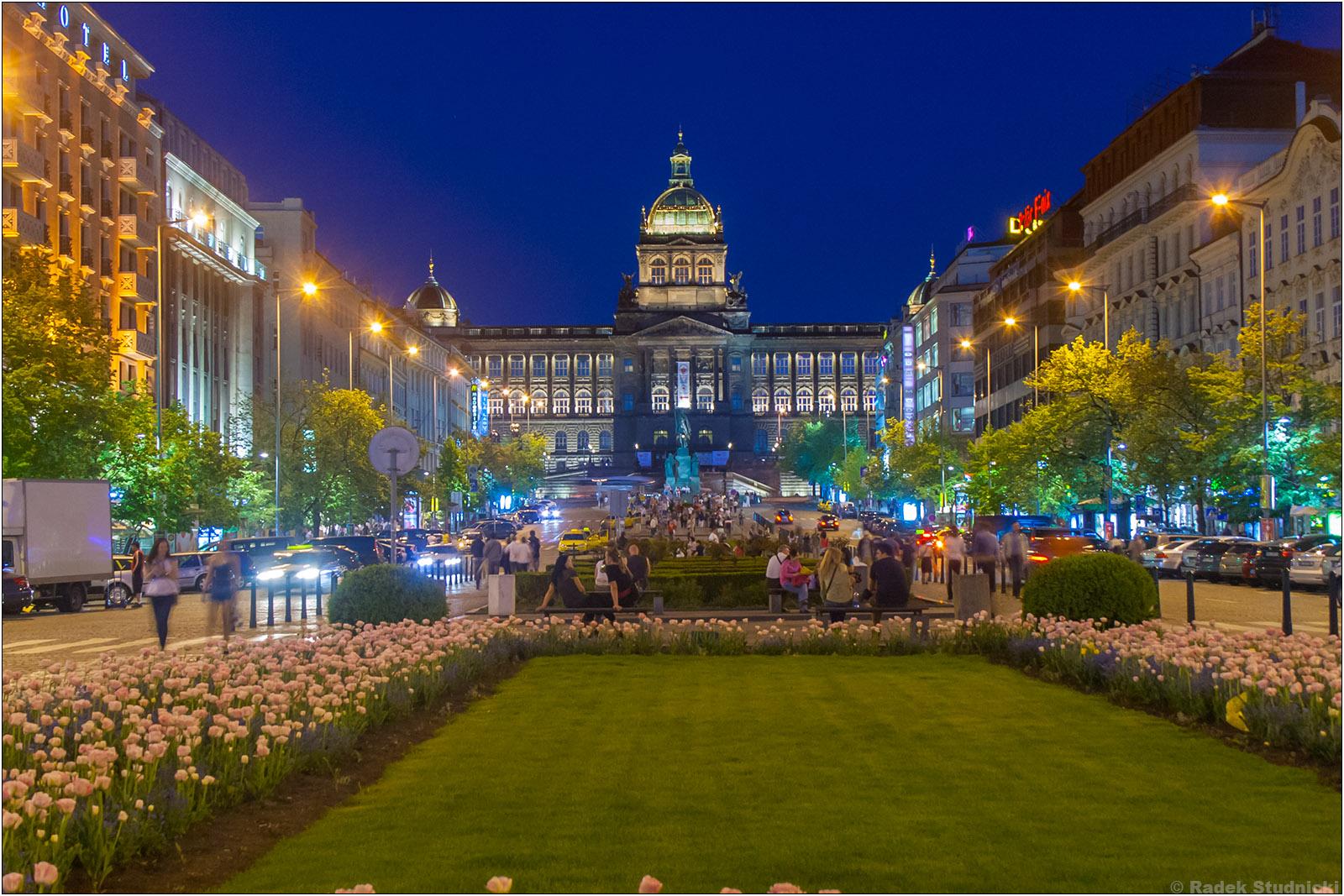 Plac Wacława w Pradze