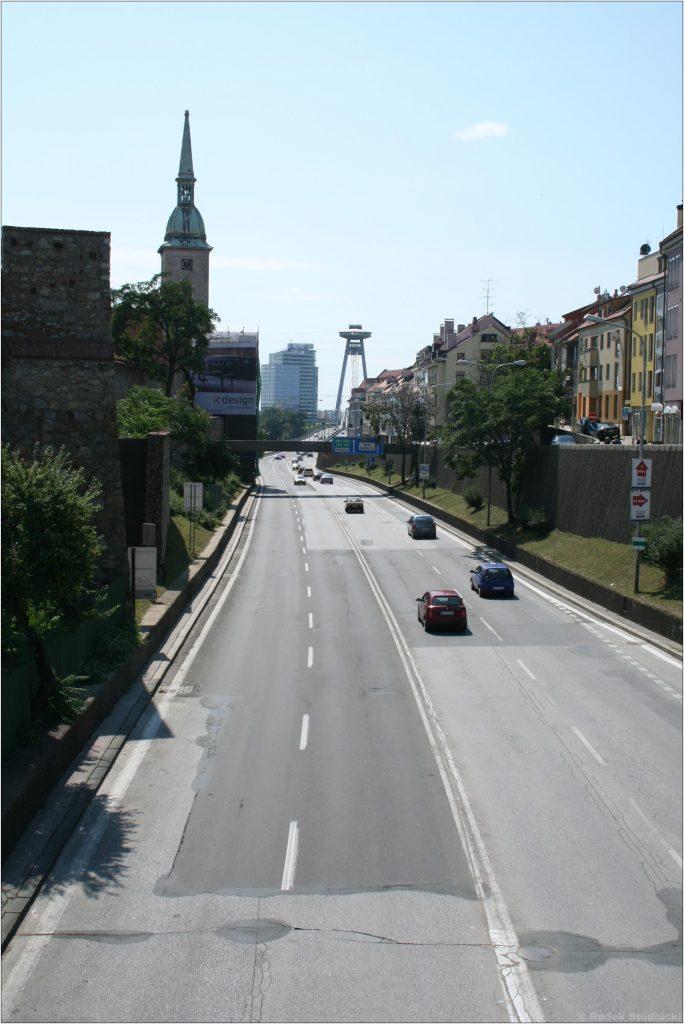 Ulice stolicy Słowacji