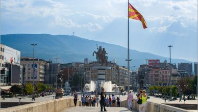Skopje na fotografiach