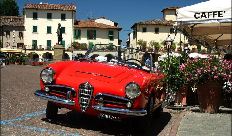 Auto w Greve in Chianti