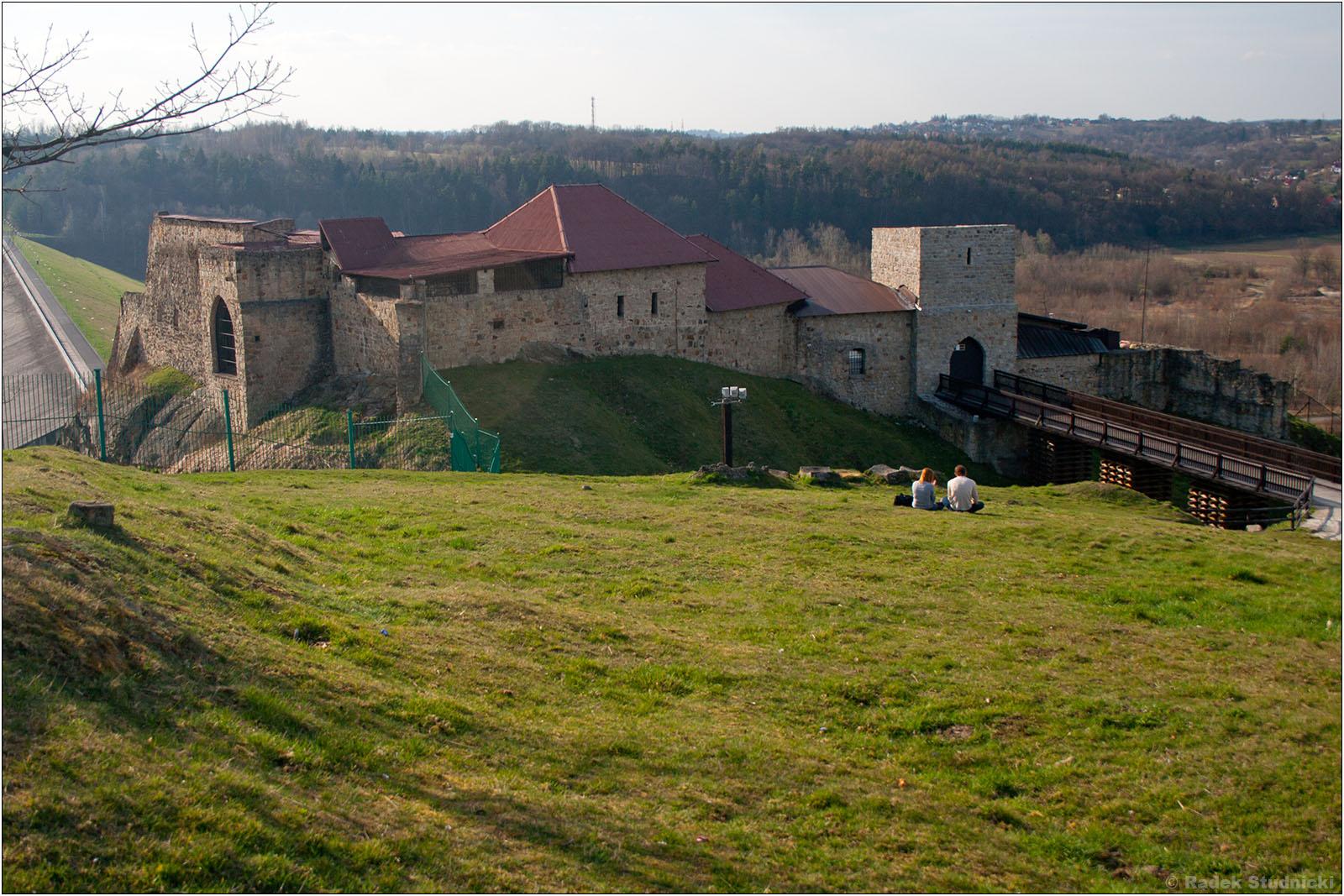 Ruiny zamku w Dobczycach