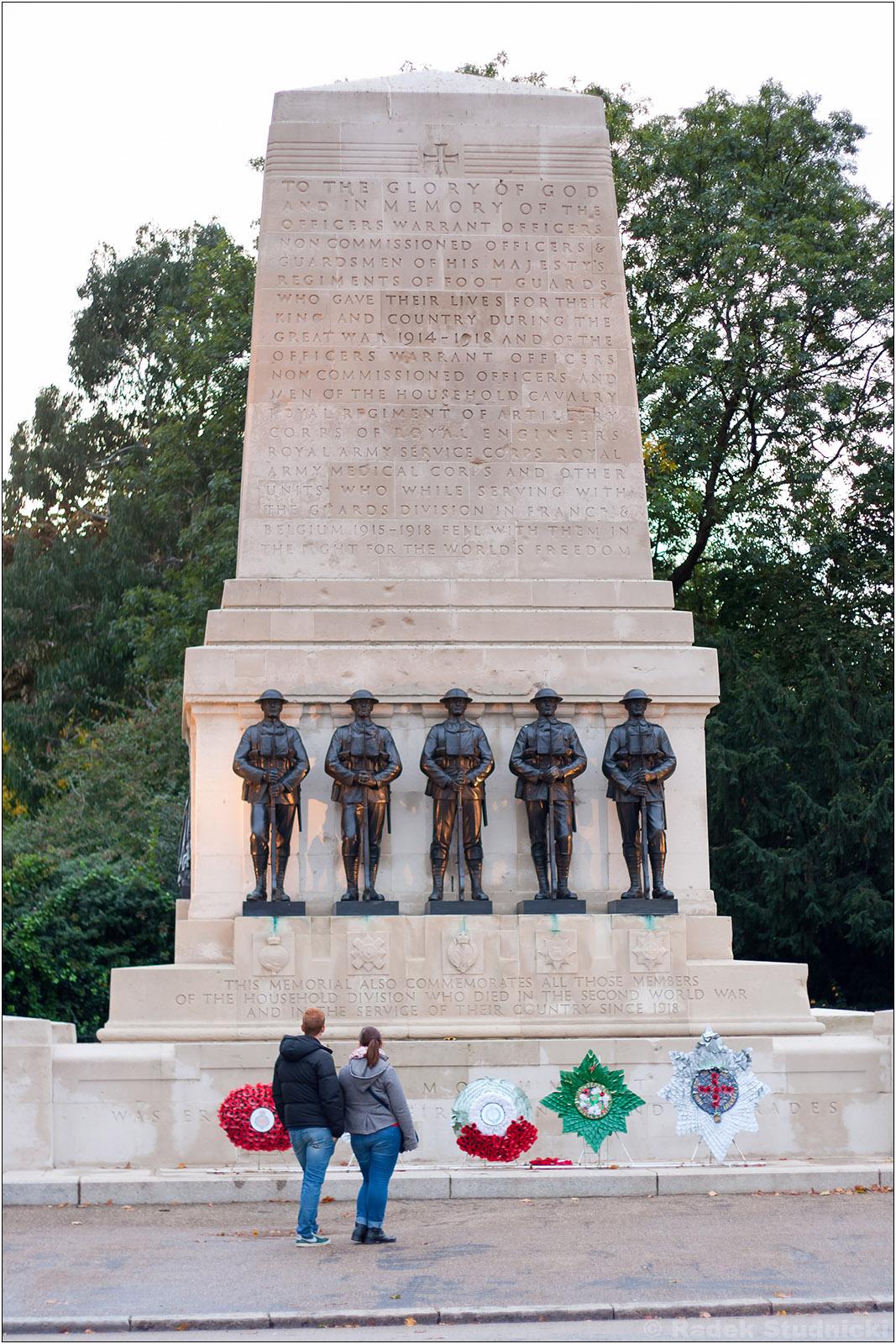 Pomnik II wojny światowej w Londynie