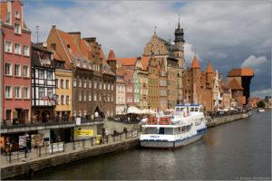 Długie Pobrzeże w Gdańsk