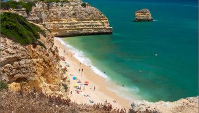 Najlepsze plaże Algarve