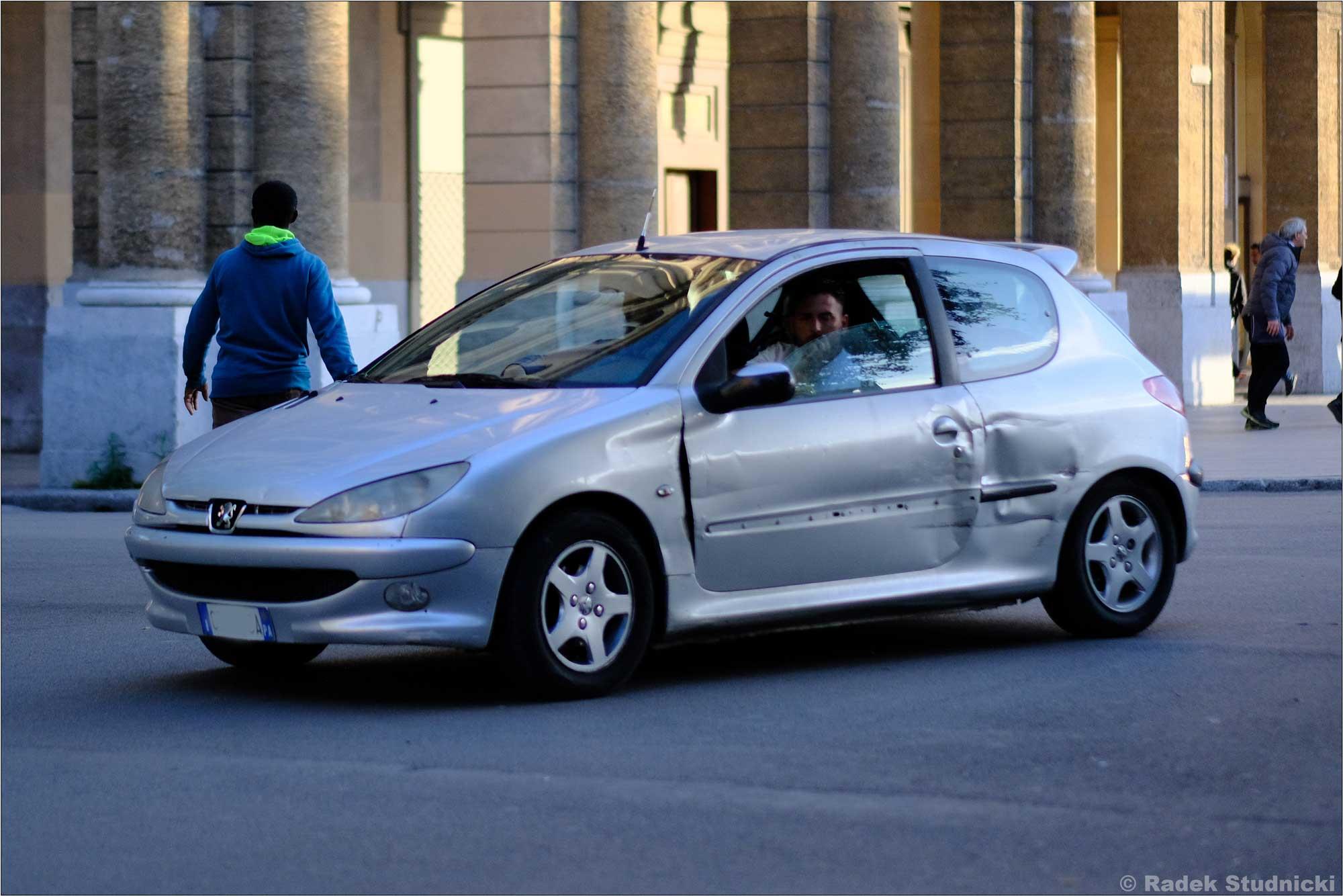 Obite auto we Włoszech