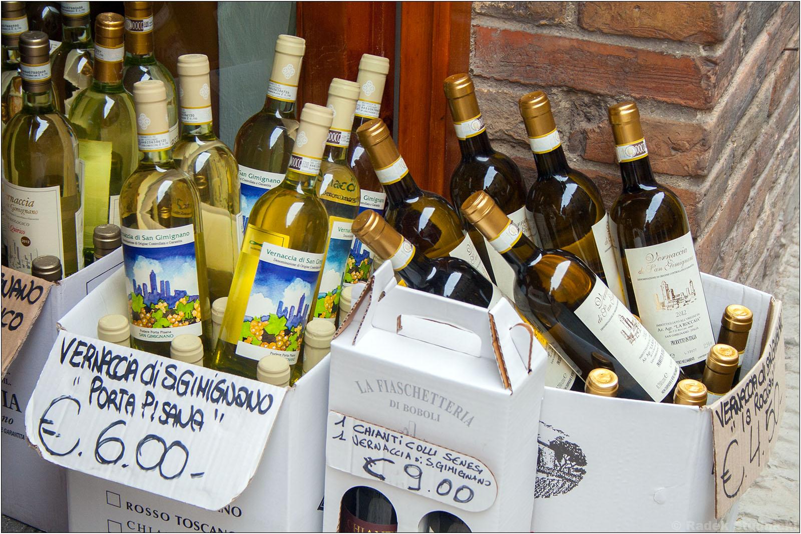 Wino Chianti z kogutem