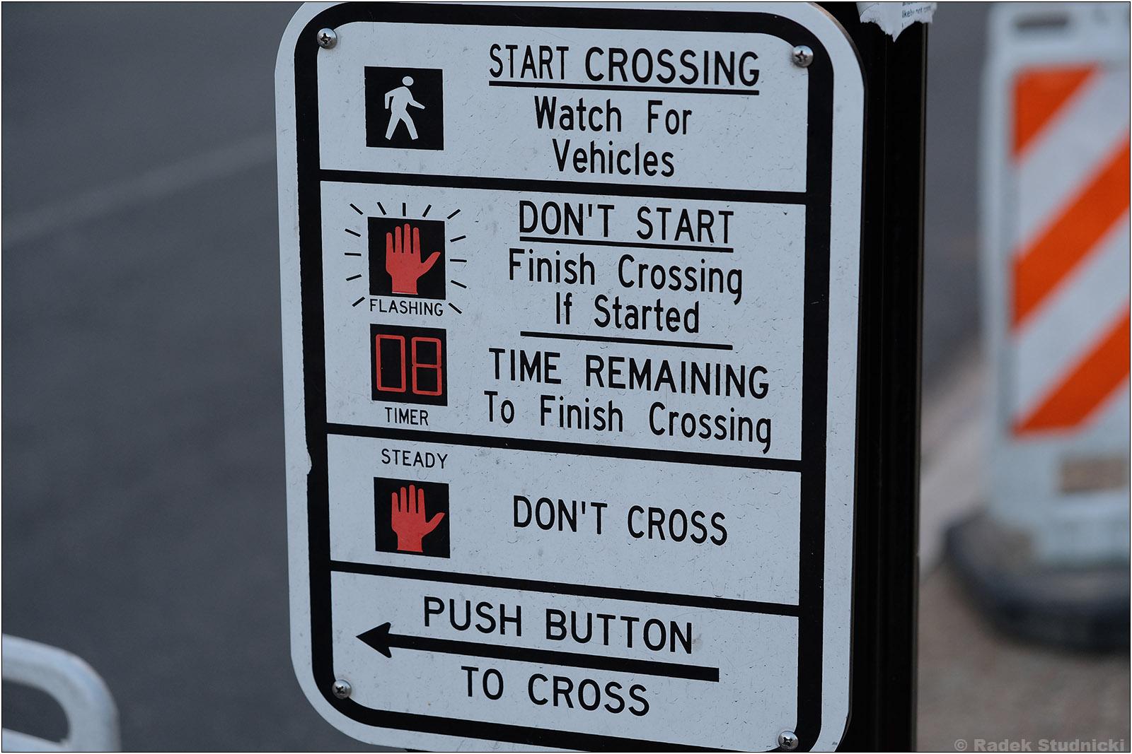 Opis przejścia dla pieszych