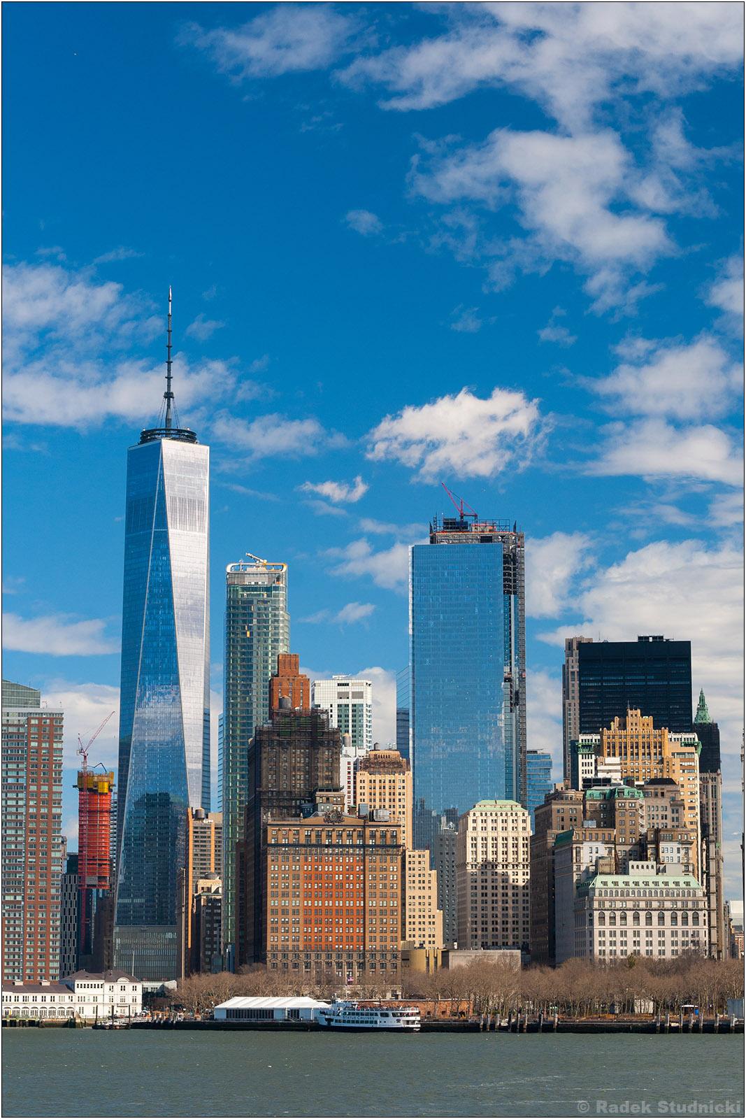 Widok na Dolny Manhattan