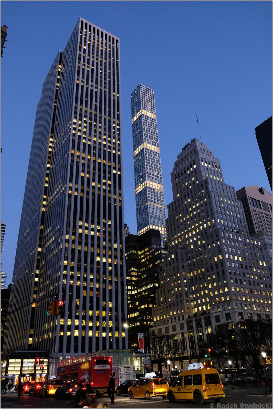Wieżowce Manhattanu