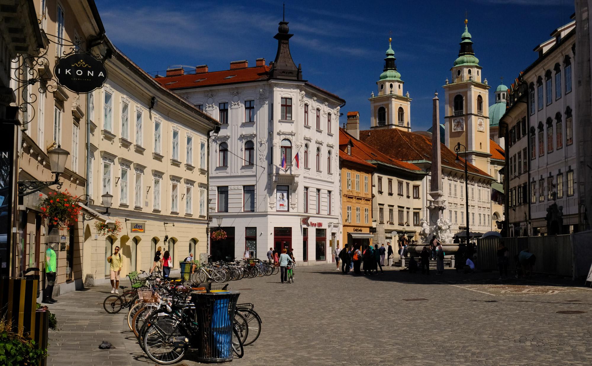 Mestni Trg w Lublanie