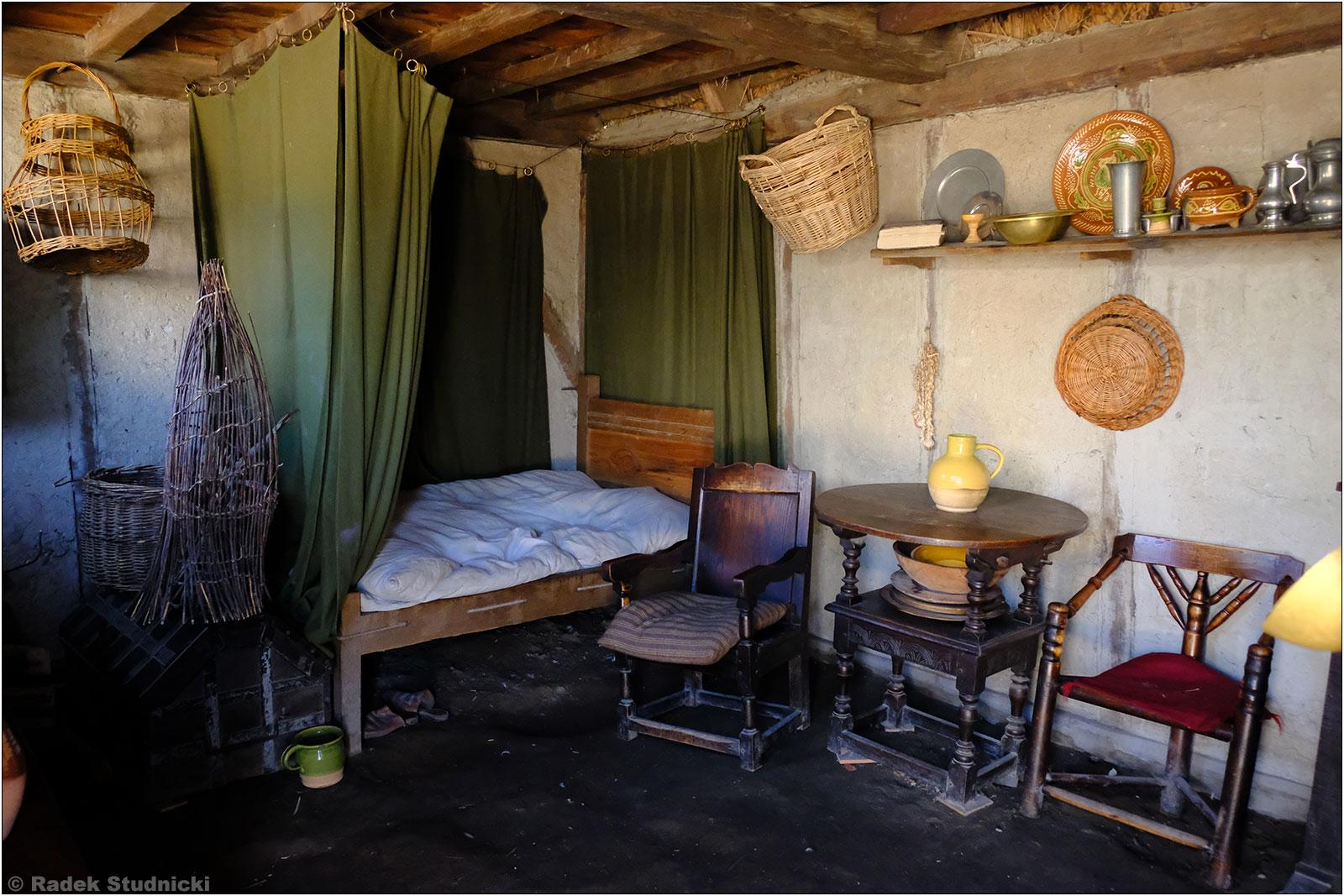 Chata pielgrzymów w kolonii Plymouth