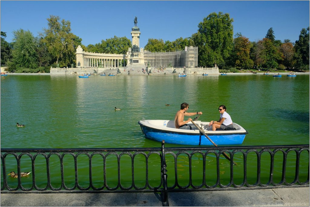 Park Retiro w Madrycie