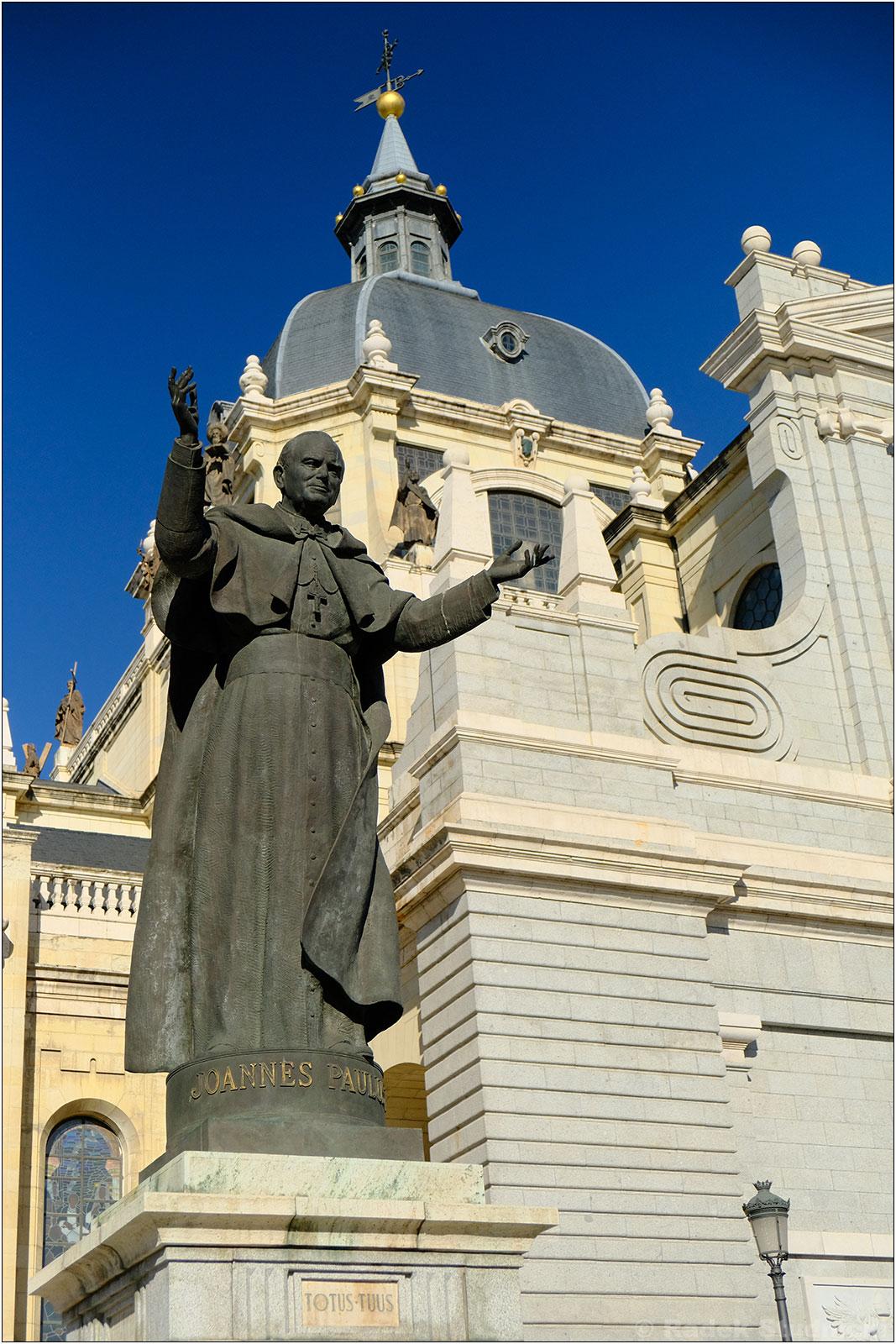 Papież Jan Paweł II w Madrycie