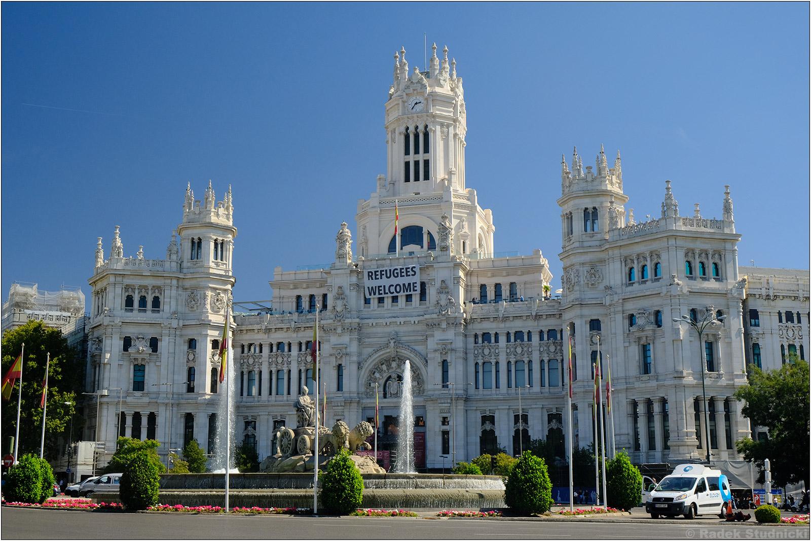 Ratusz w Madrycie
