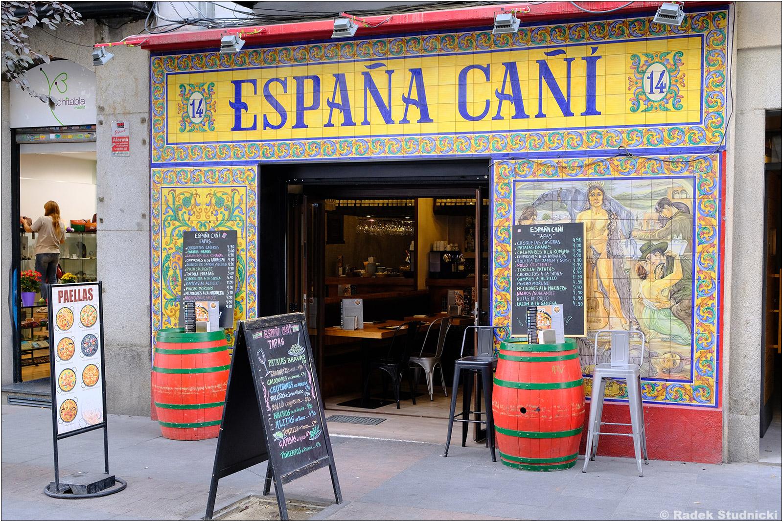 Knajpa w Madrycie