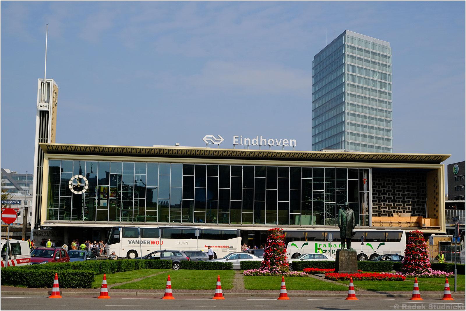 Dworzec kolejowy w Eindhoven