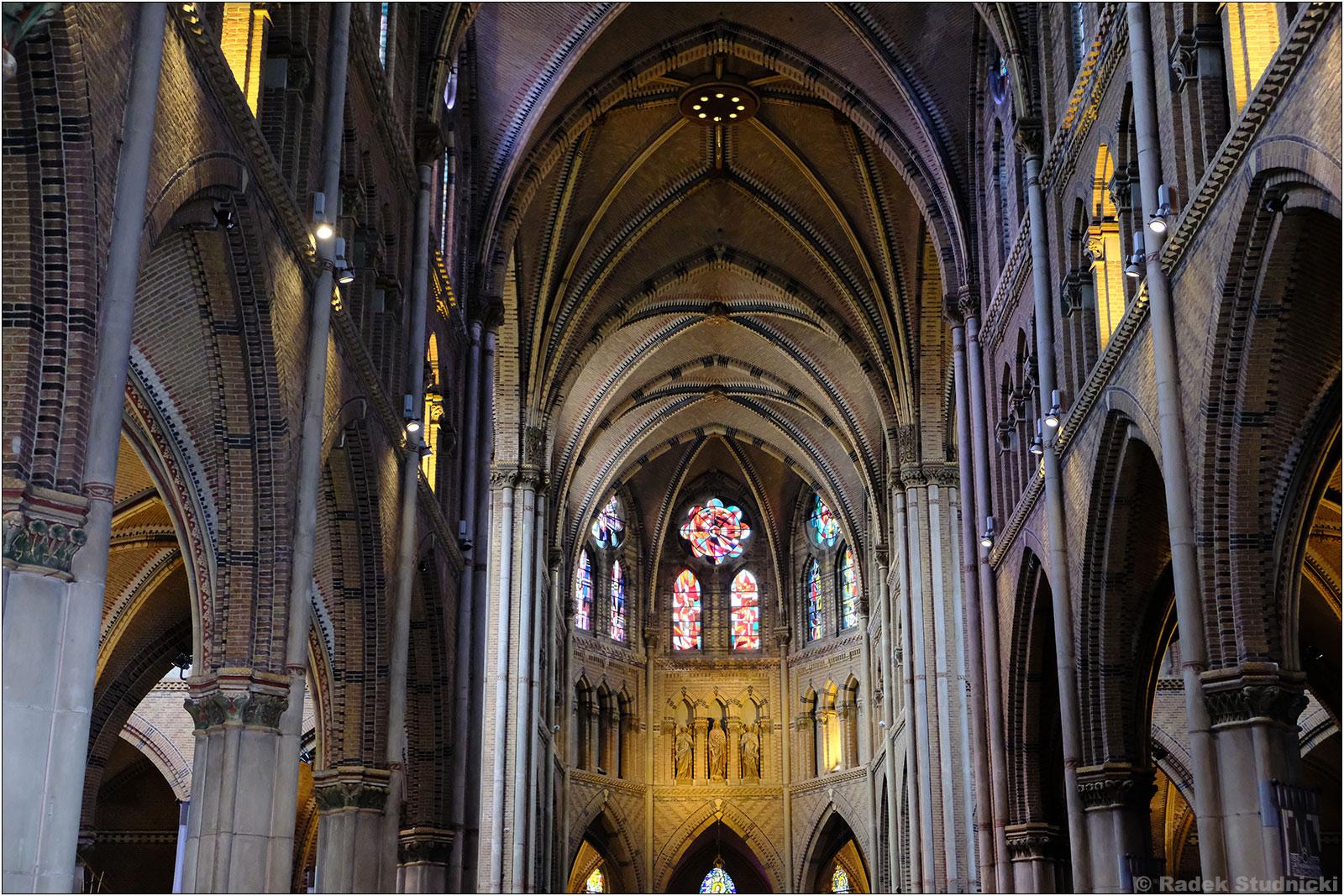 Wnętrze kościoła św.Katarzyny