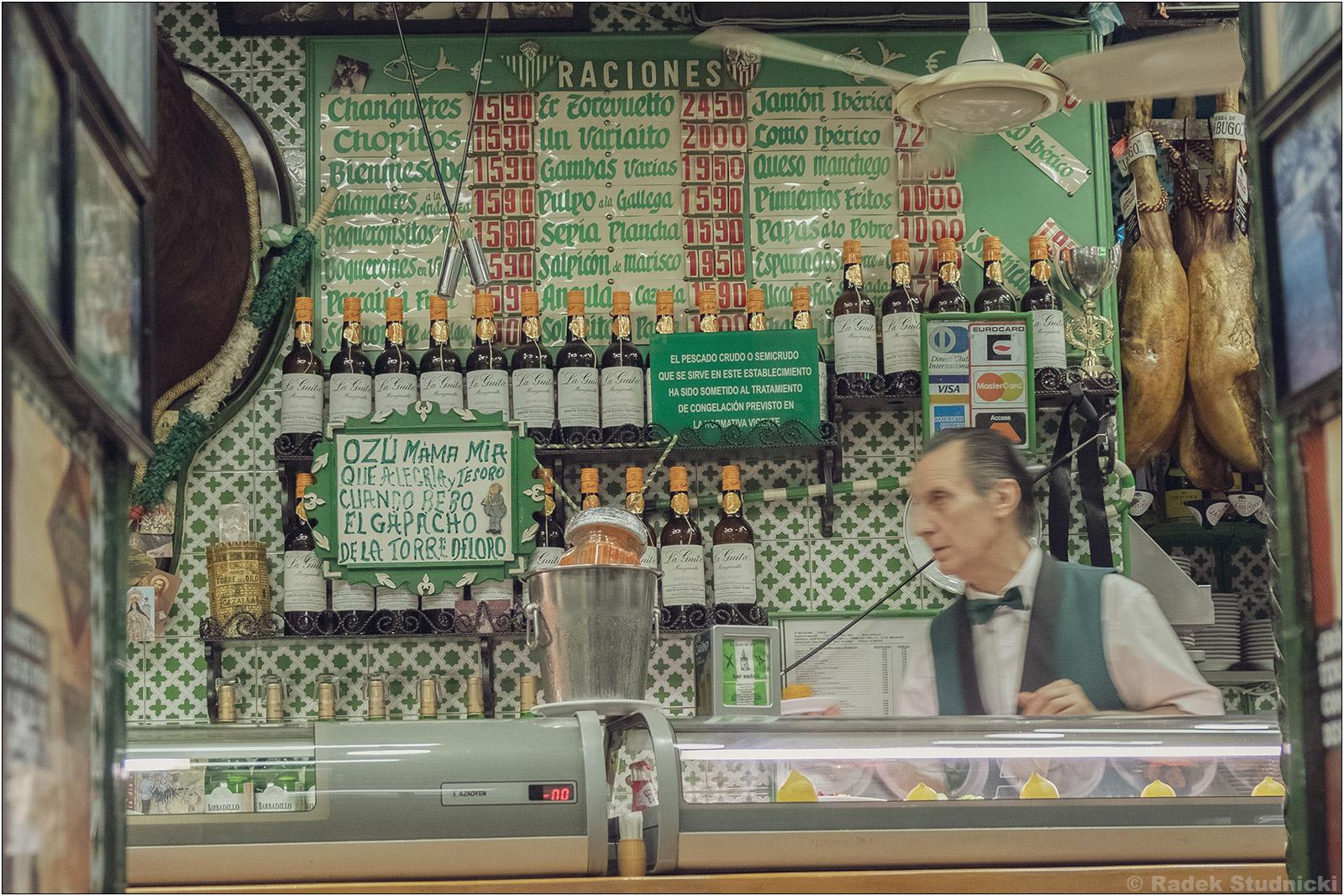 Bar w Madrycie