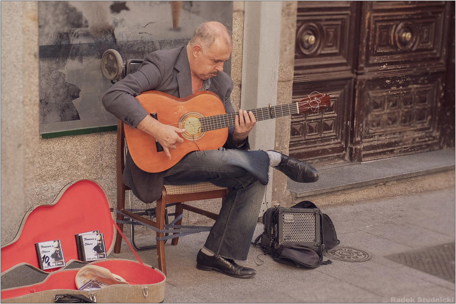 Gitarzysta flamenco