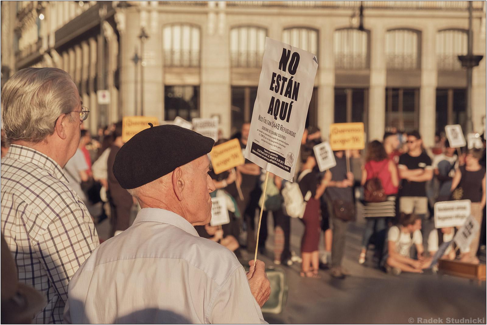 Strajk na Puerta del Sol