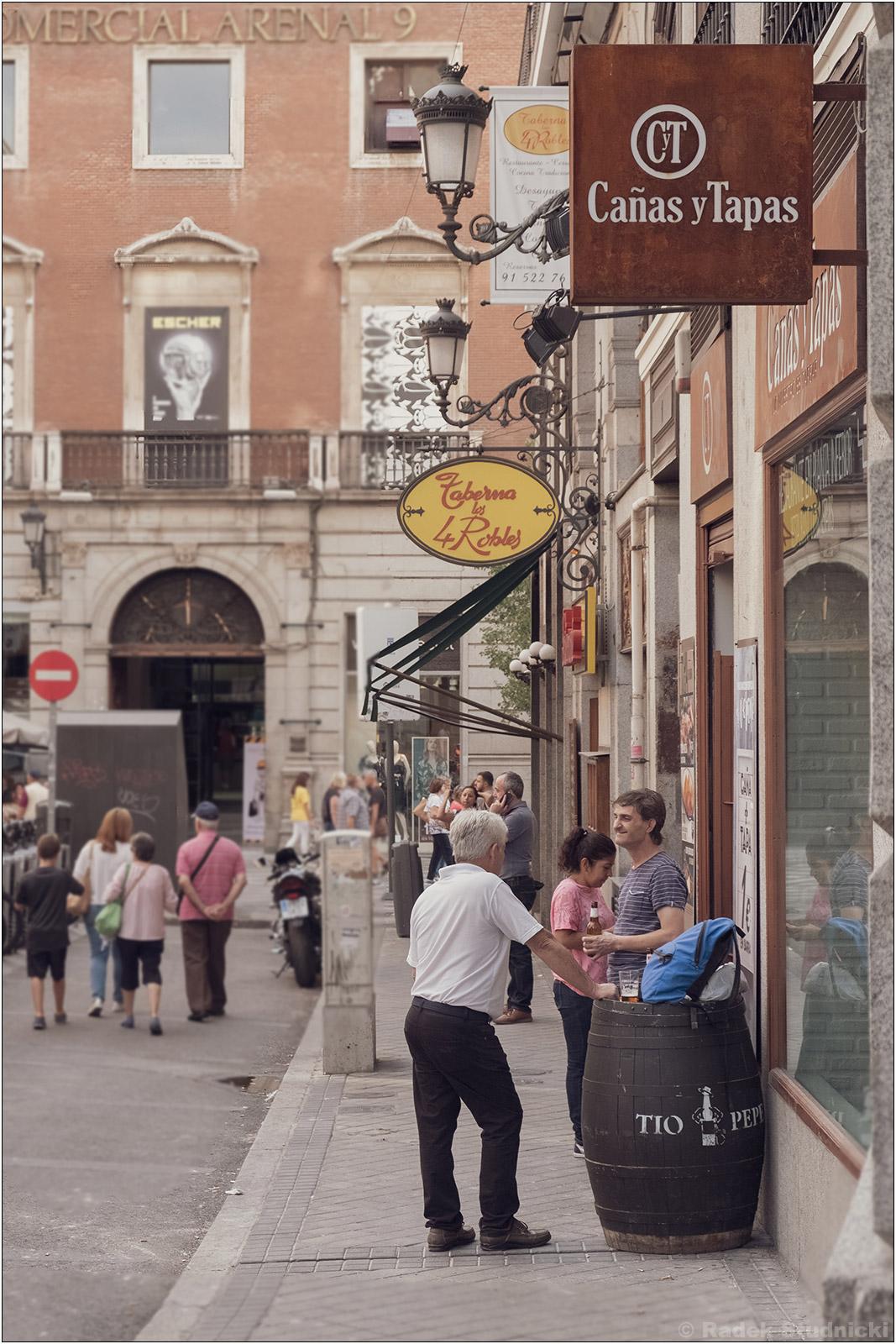 Życie na ulicach Madrytu