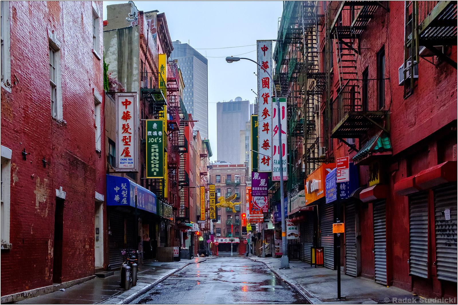 Nowojorskie Chinatown