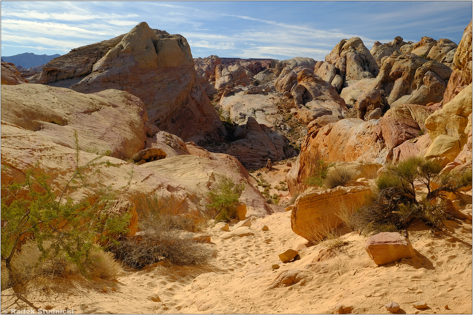 Valley of Fire w stanie Nevada