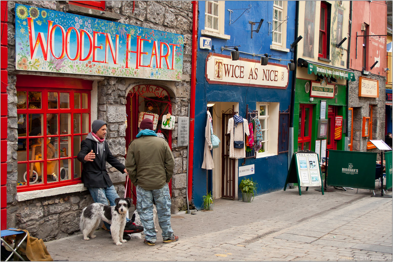 Shopping Mile w Galway
