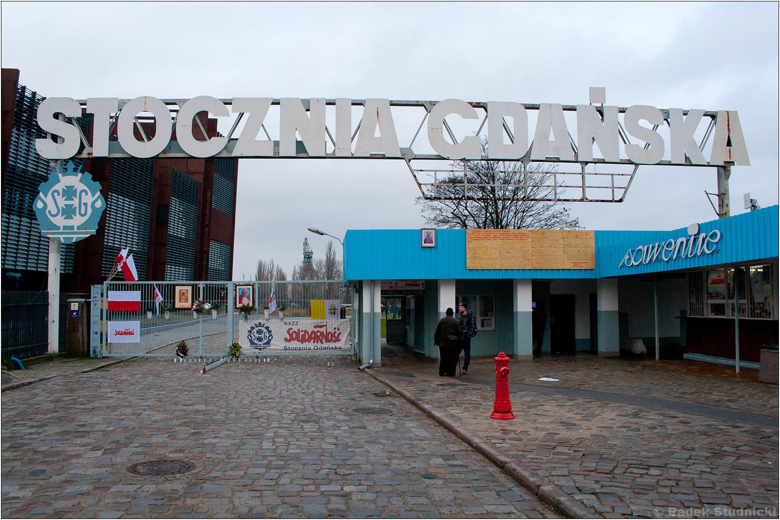Brama do Stoczni Gdańskiej