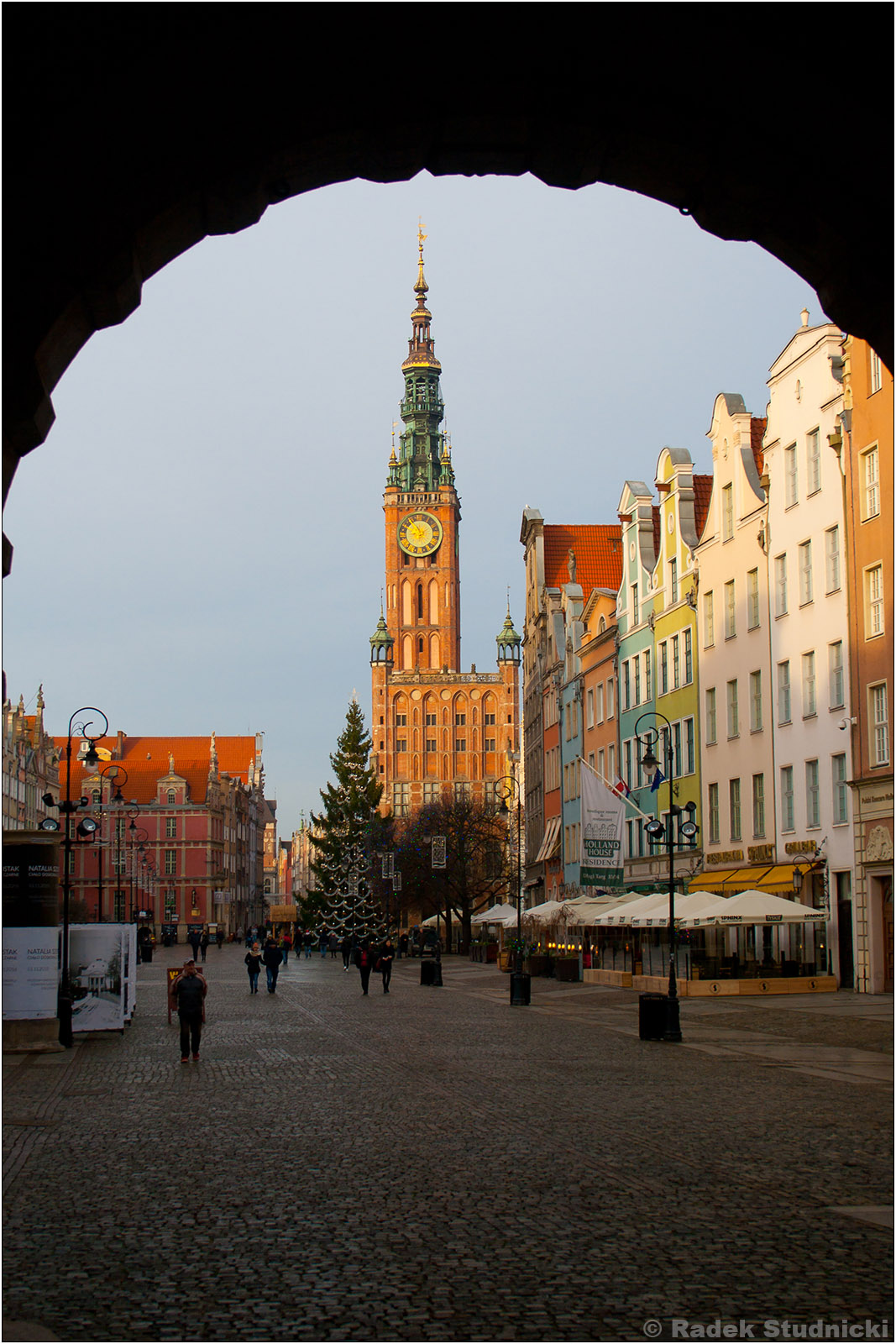 Ratusz Gdański i Długi Targ