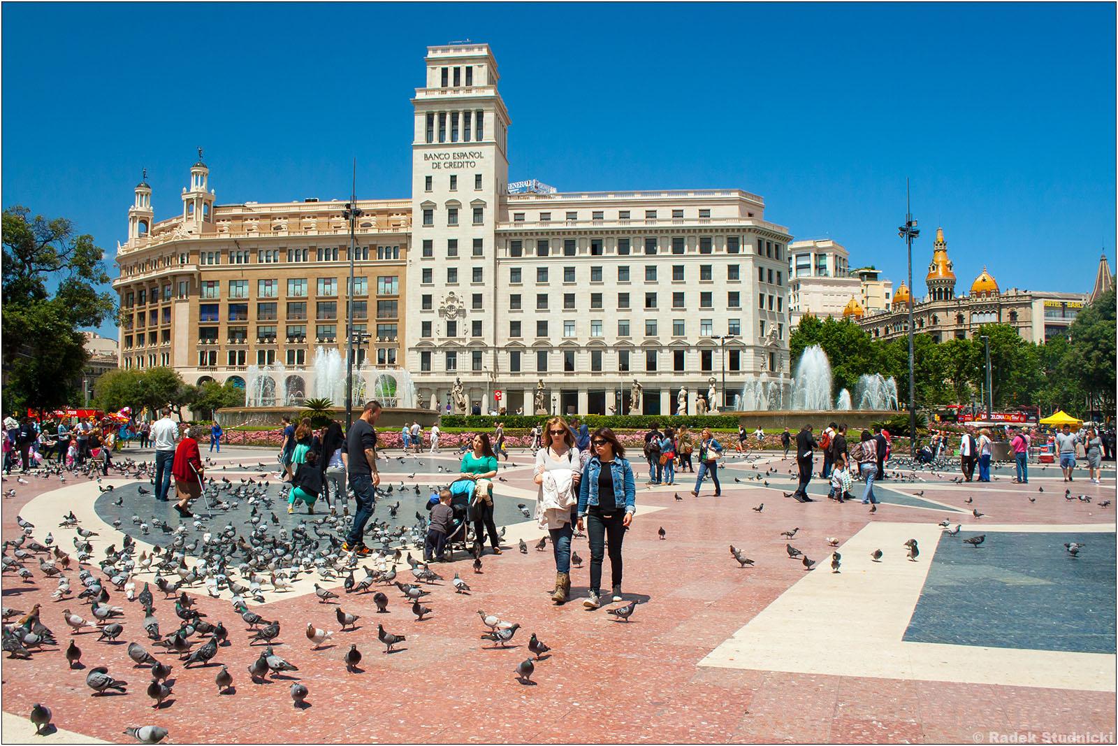 Placa Catalunya