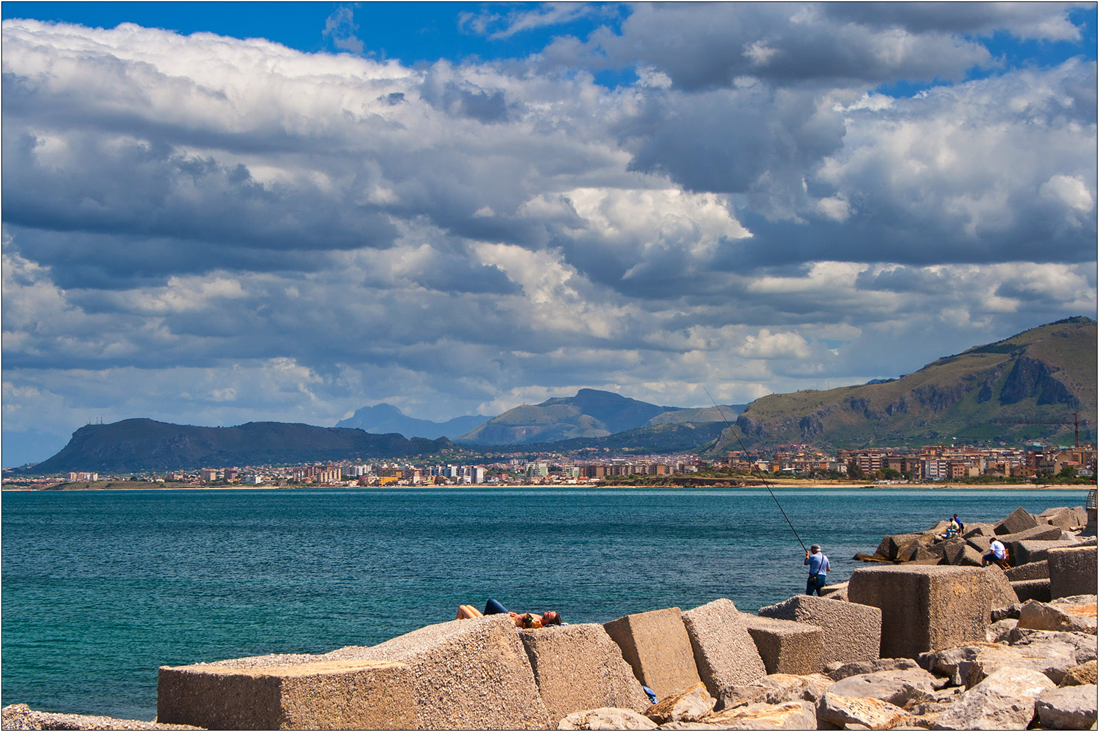 Wybrzeże w Palermo
