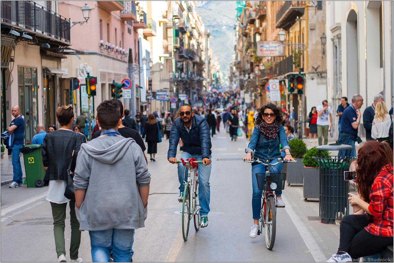 Via Maqueda w Palermo