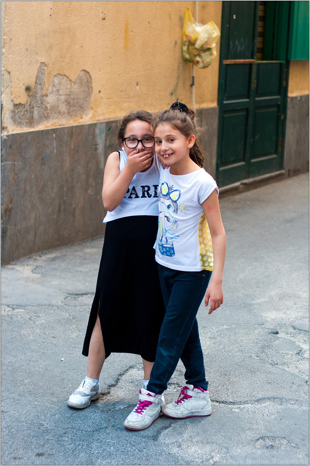 Sycylijskie dzieci w Palermo