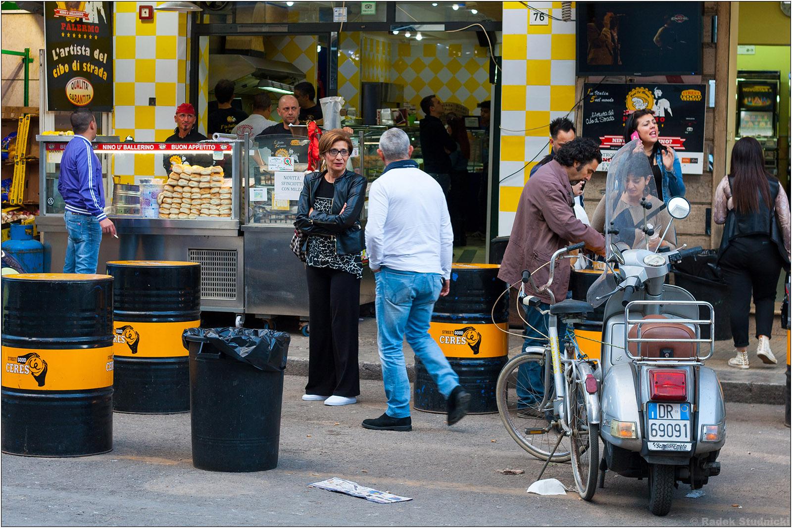 Ruchliwe ulice Palermo