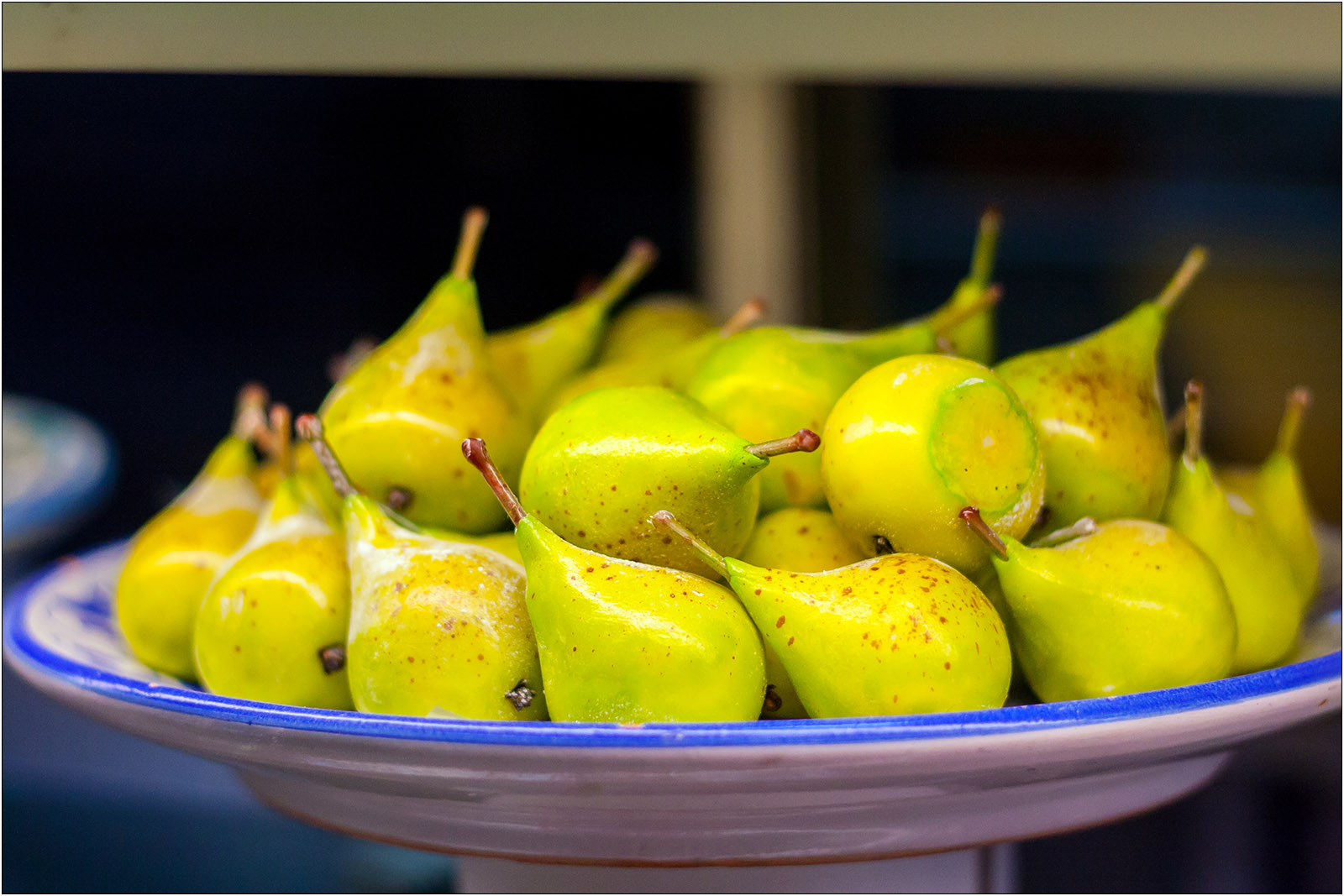 Owoce z marcepanu