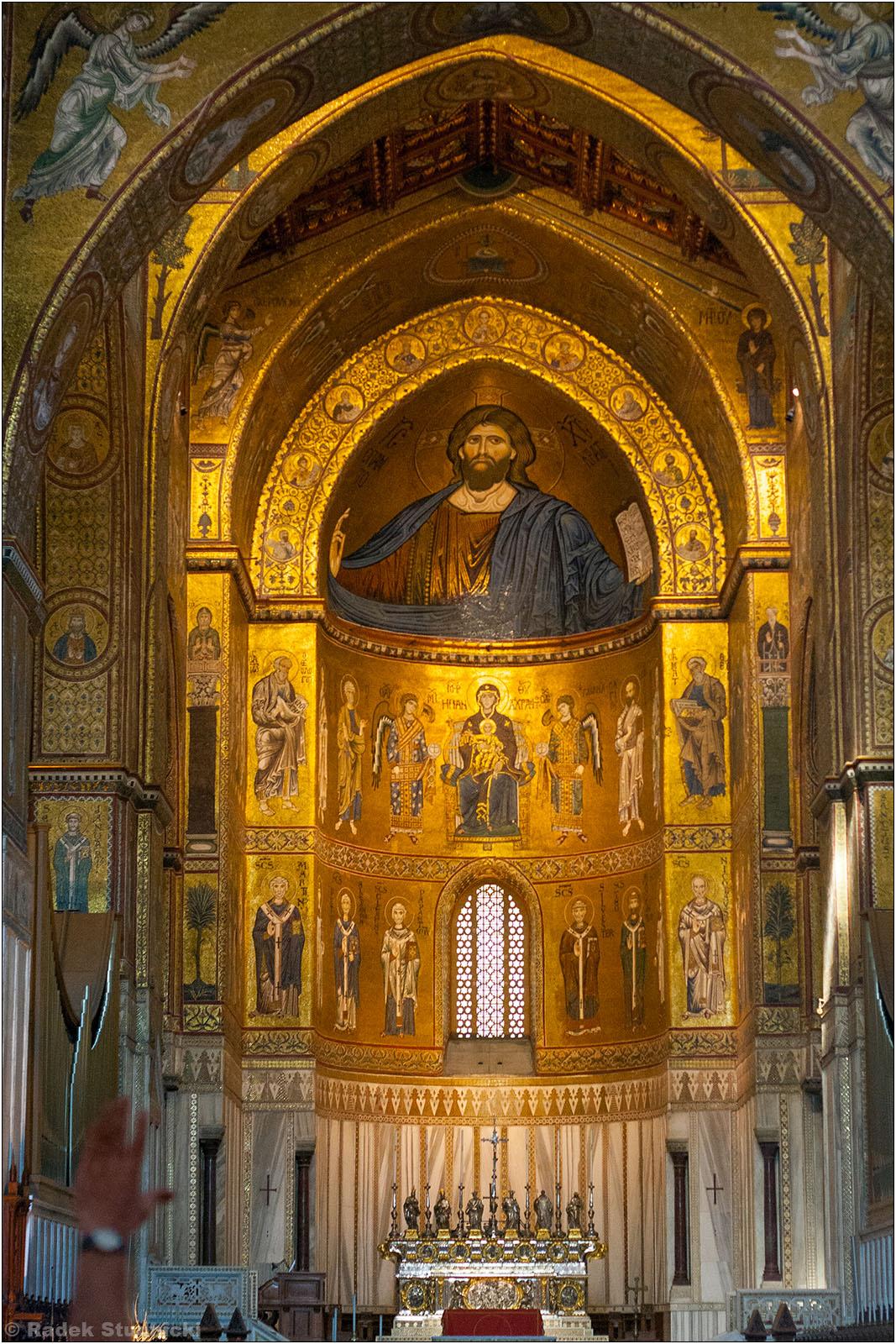 Wnętrze klasztoru Monreale