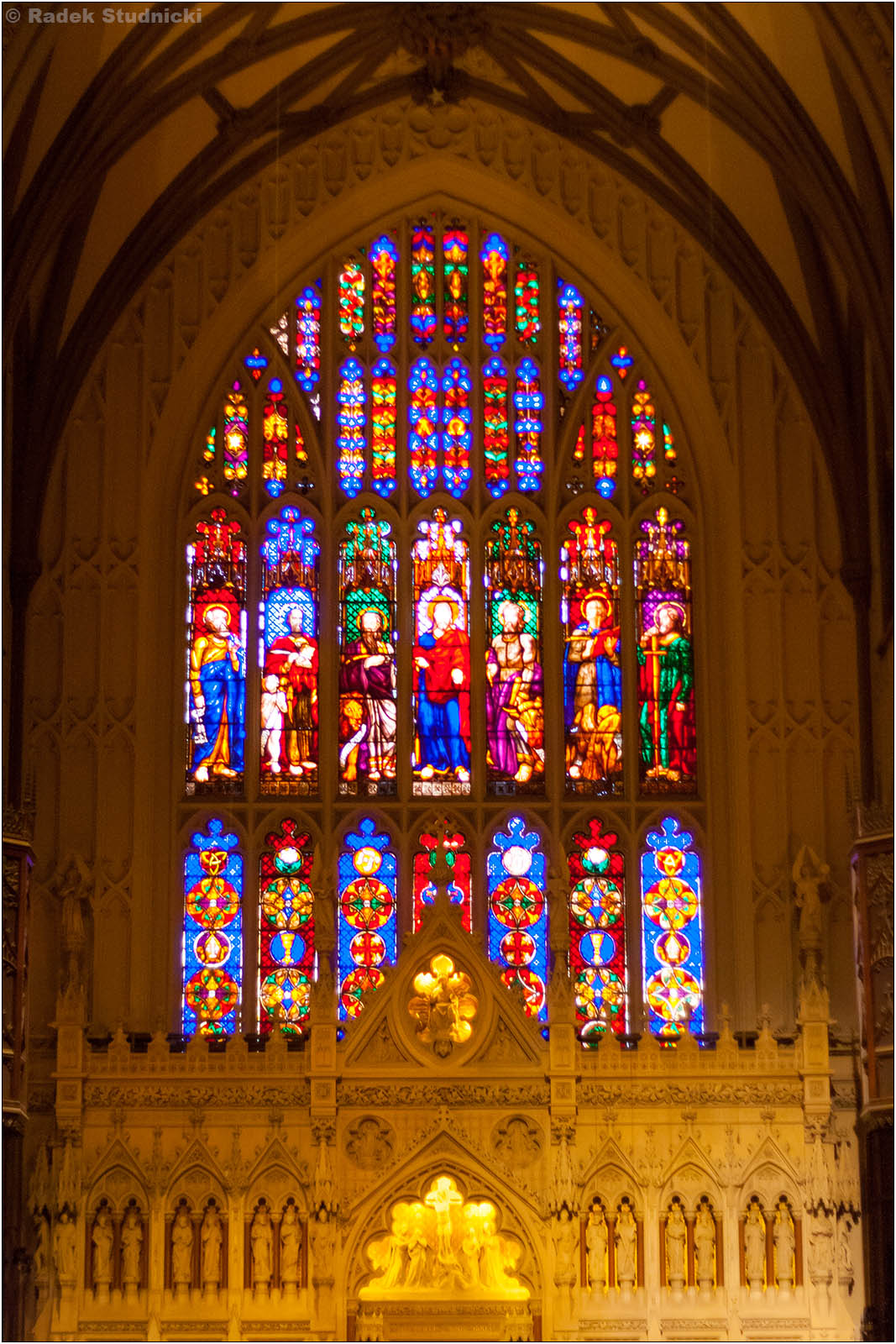 Wewnątrz Trinity Church