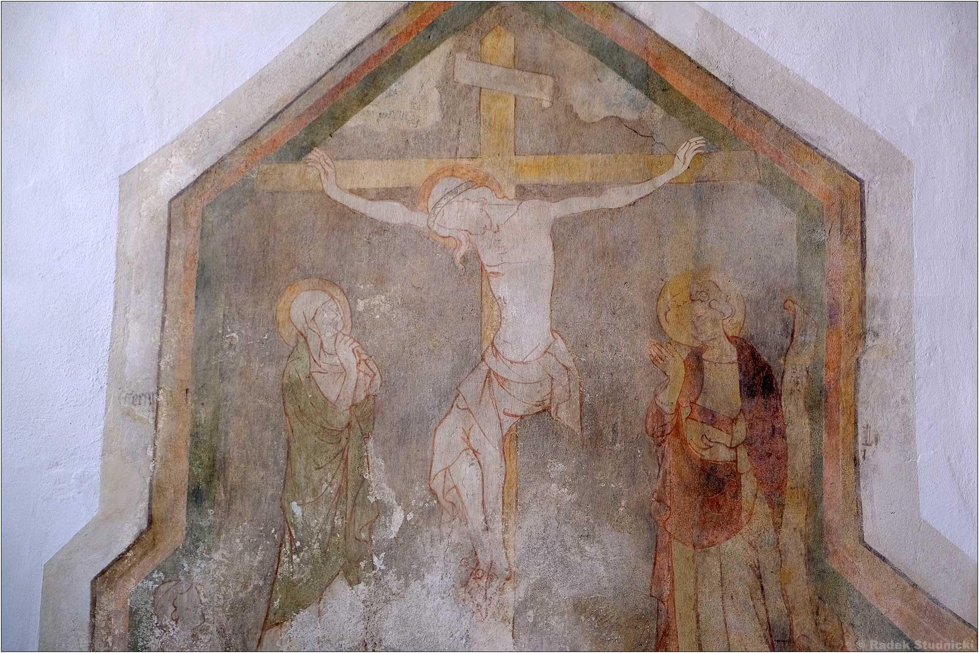 Fresk w kościele św.Andrzeja