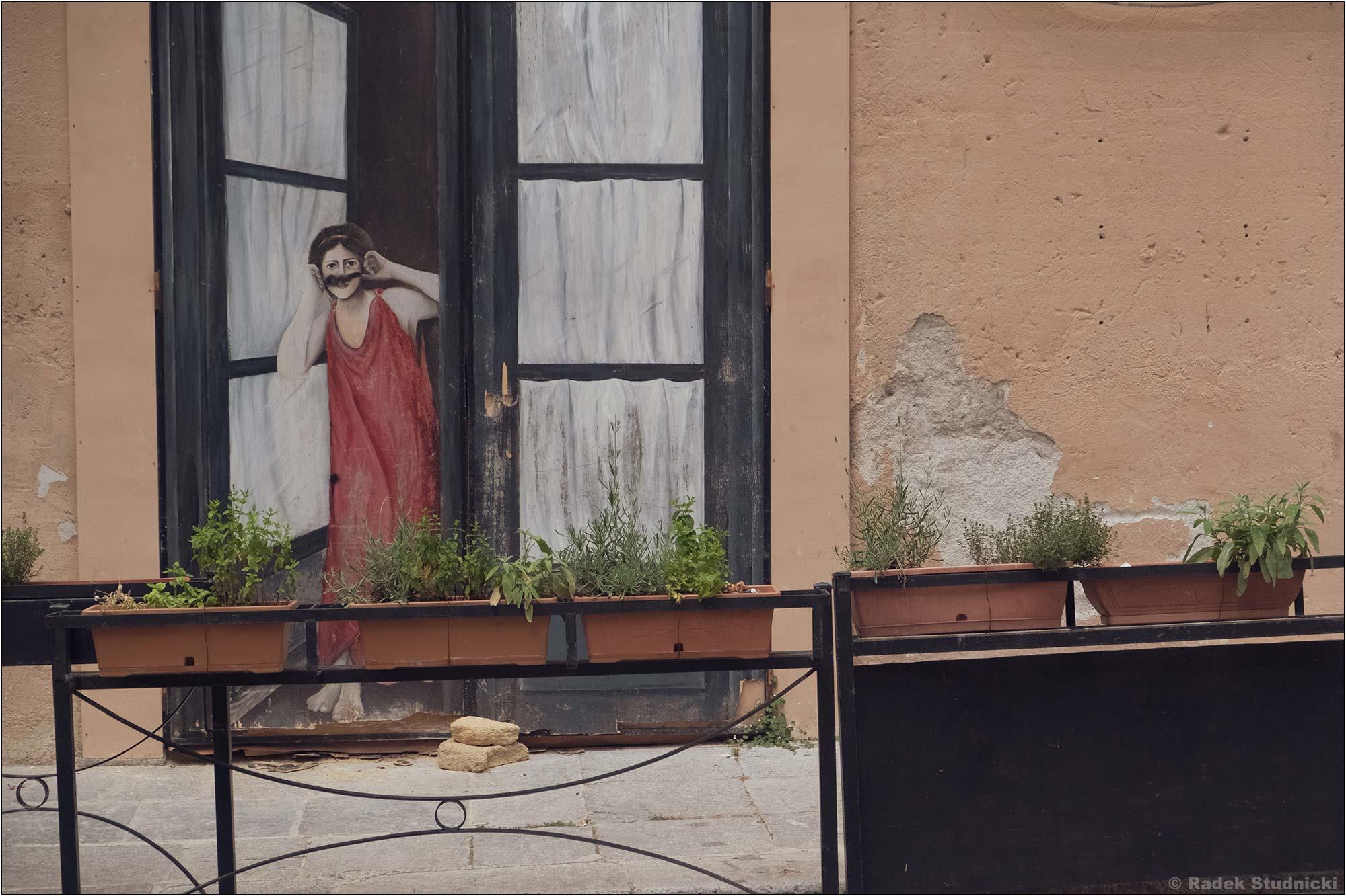 Ciekawy mural