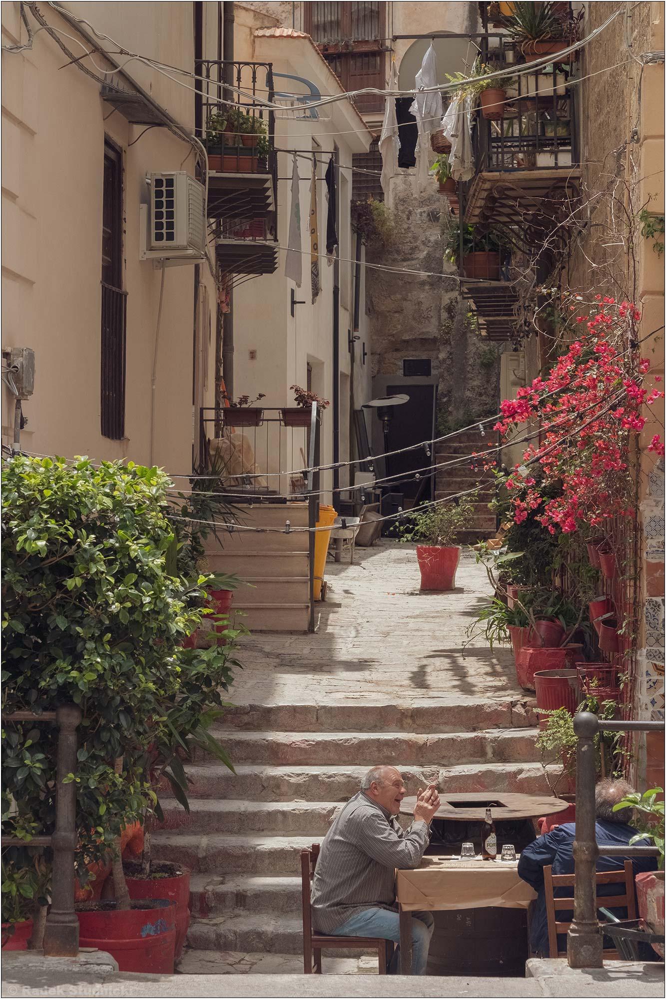 Kawiarenka w Palermo