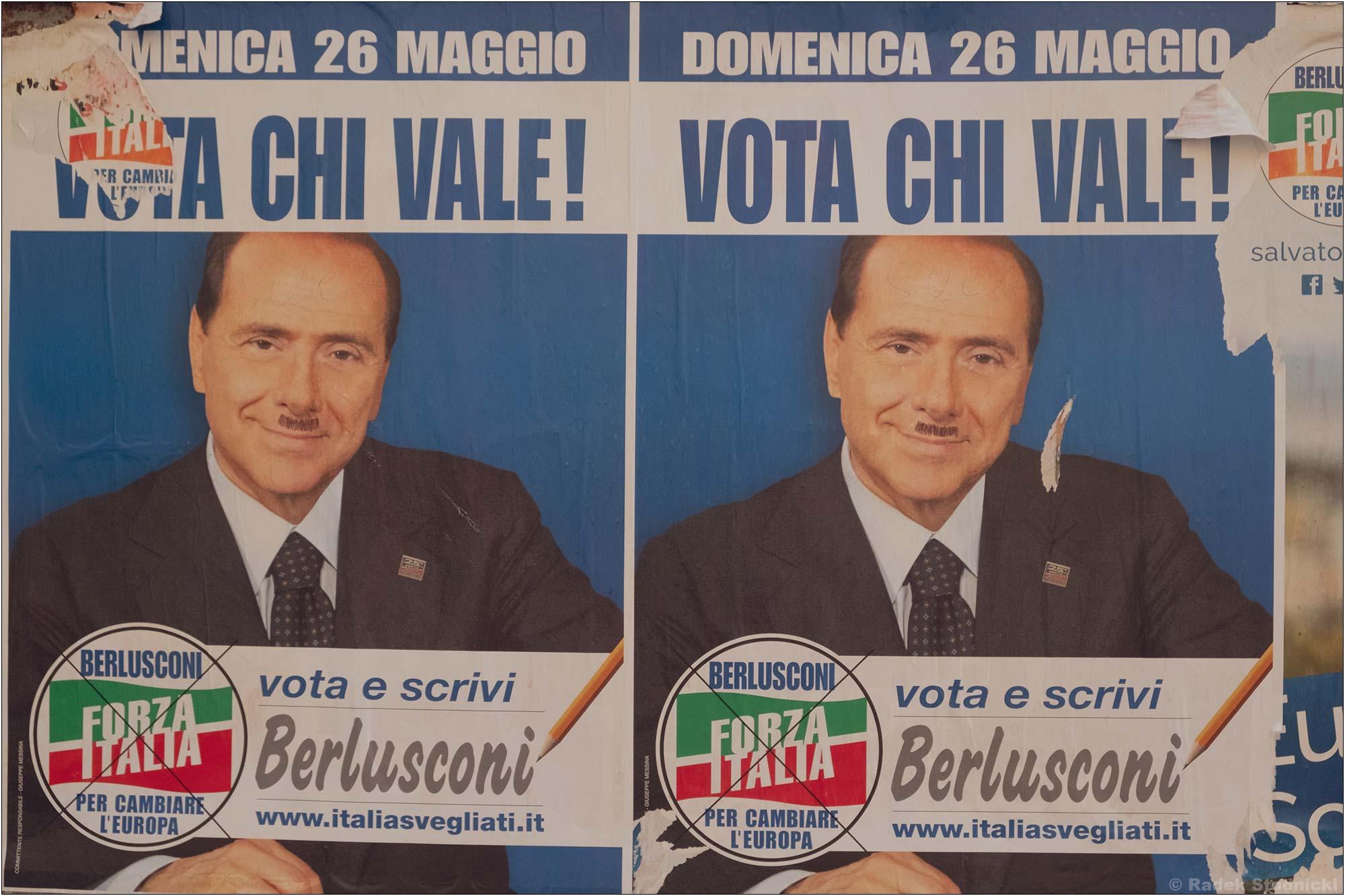 Berlusconi plakat wyborczy