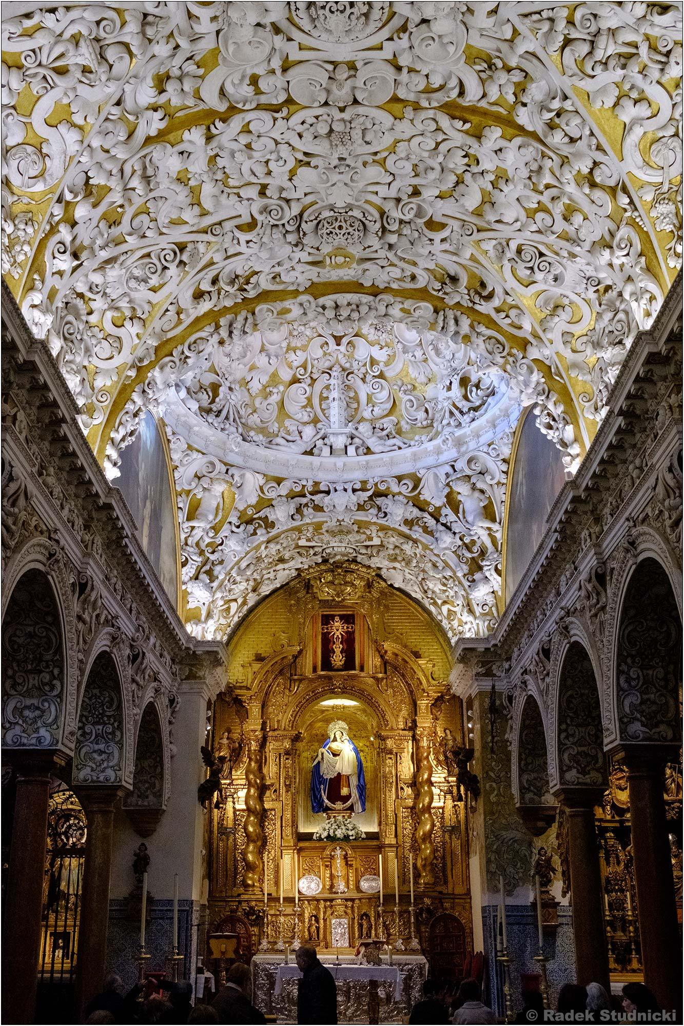 Wnętrze kościoła Santa Maria Blanca