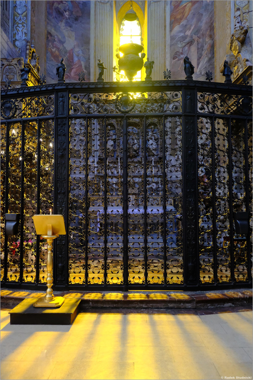 Szczątki św.Agaty Sycylijskiej