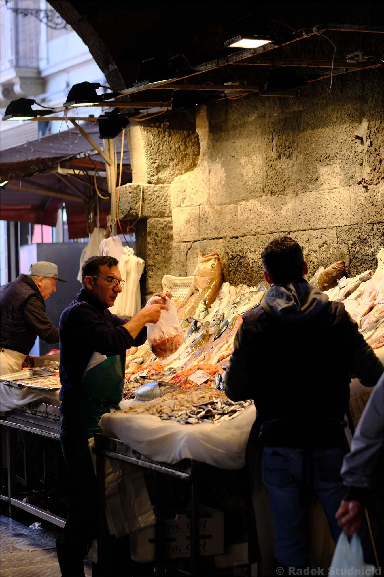 La pescaderia di Catania