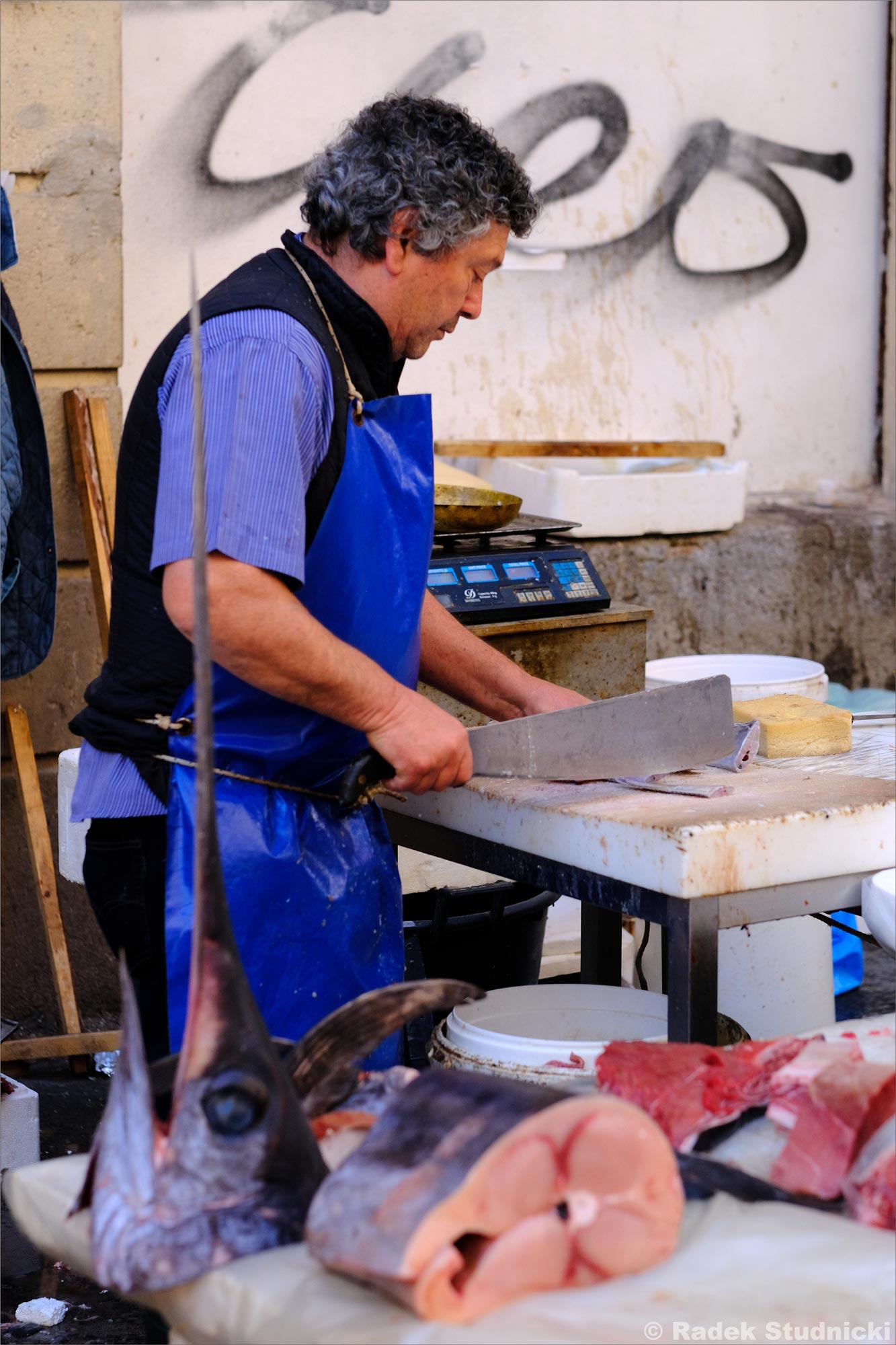 Sprzedawca ryb