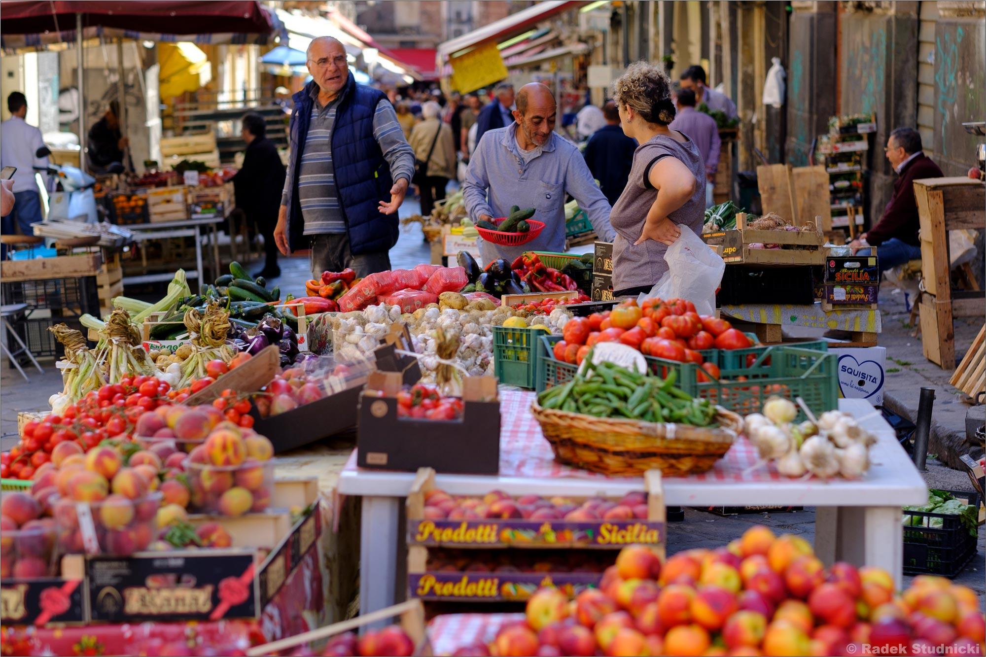 Włoski targ