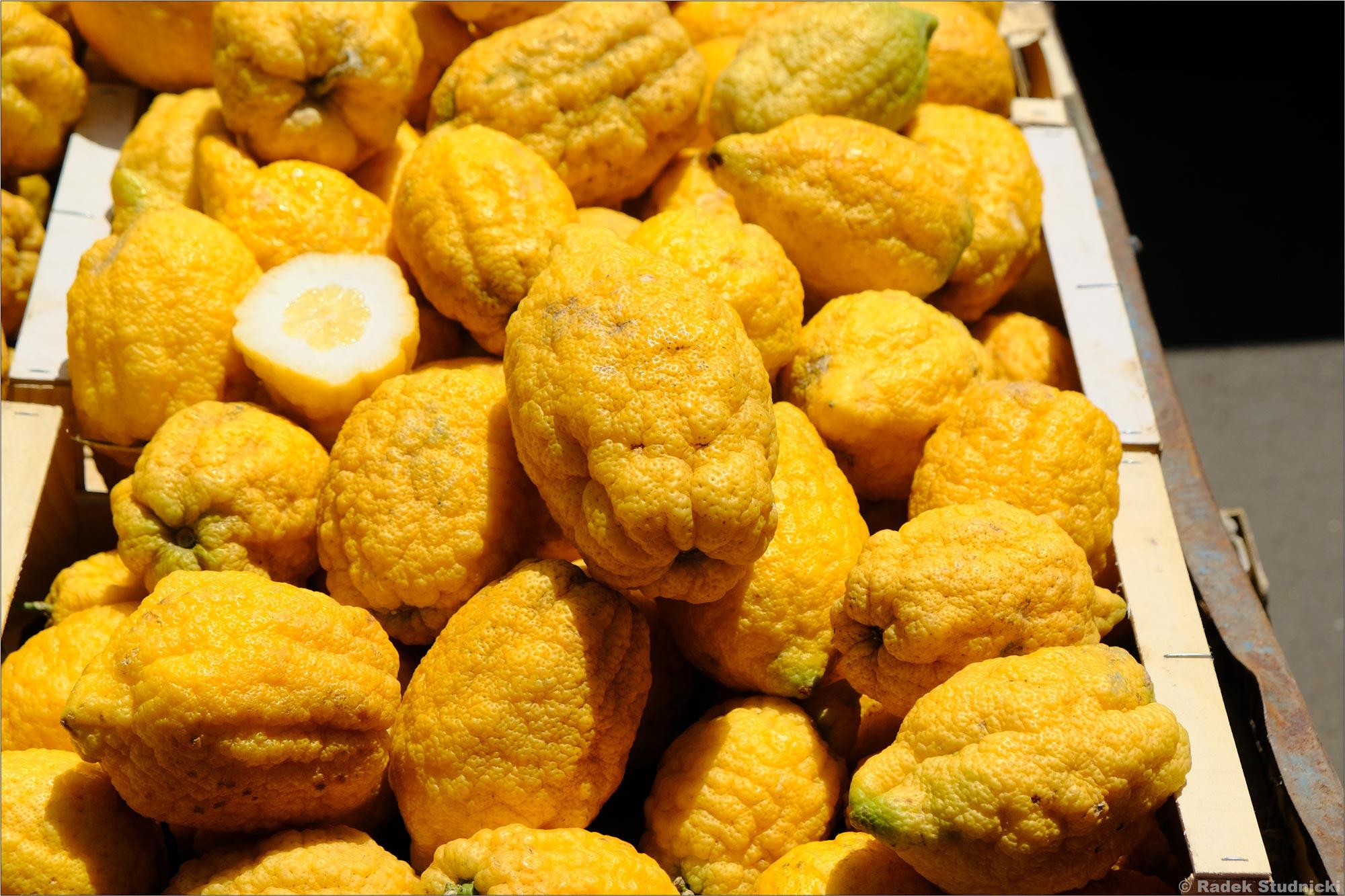 Włoskie cytryny