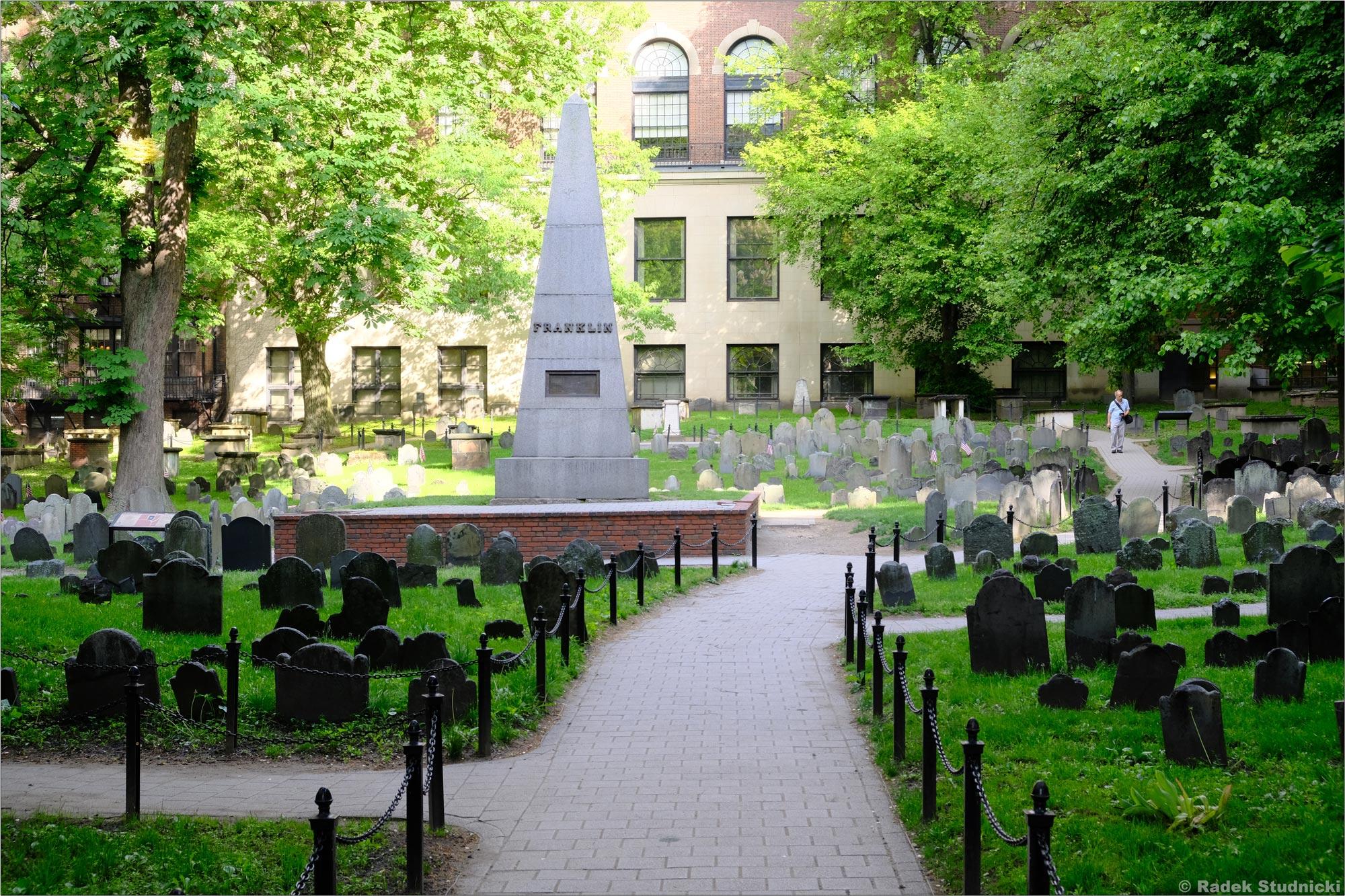 Stary cmentarz Granary